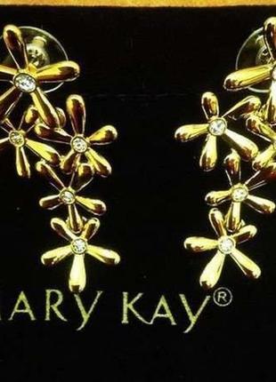 Серьги мери кей mary kay