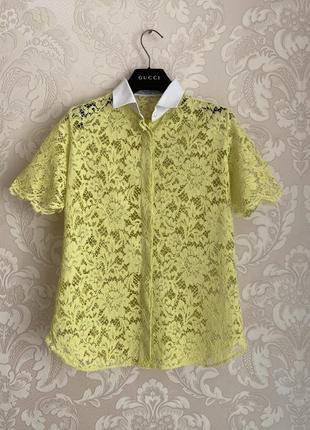 Valentino оригинал италия рубашка кружево