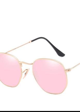 Новые очки италия розовое золото