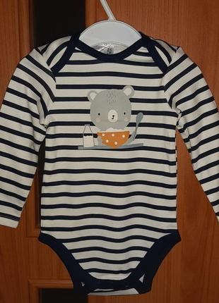 Распродажа!!!детская одежда по 99 грн!!!трикотажный бодик baby club от c&a (испания)