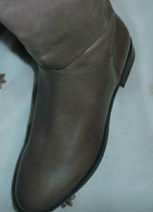 Женские кожаные сапоги.2 фото