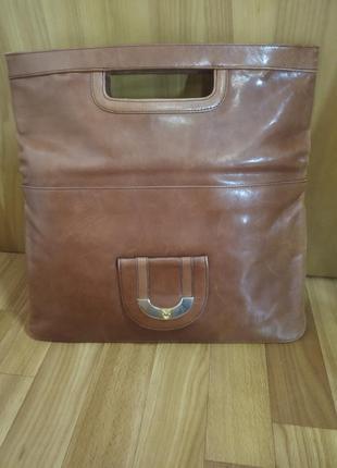 Кожаная сумка очень качественная