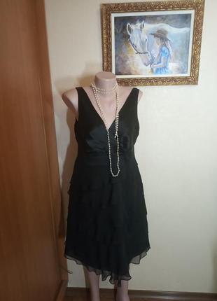 Нарядное платье шелк