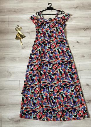 Платье сарафан в пол boohoo 40p1 фото