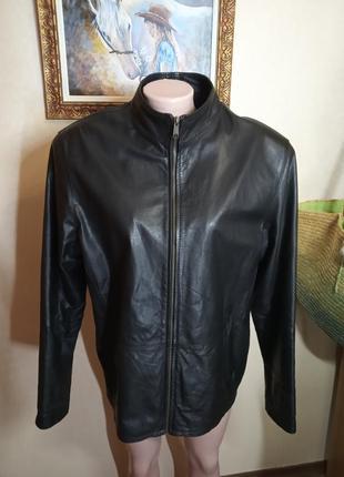 Кожаная куртка для мужчины турция