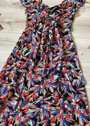 Платье сарафан в пол boohoo 40p4 фото