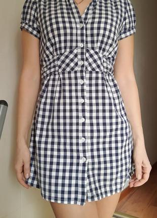 Рубашка-туника женская с коротким рукавом
