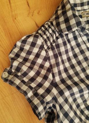 Рубашка-туника женская с коротким рукавом9 фото