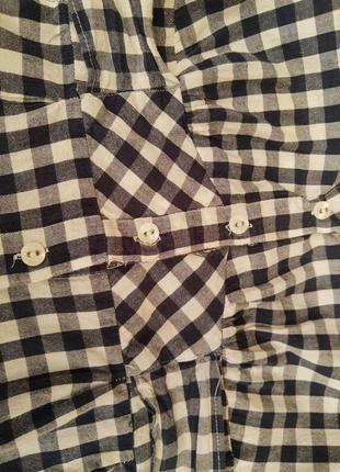 Рубашка-туника женская с коротким рукавом10 фото
