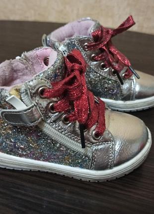 Ботинки , кеды деми для девочки 13,8 см стелька