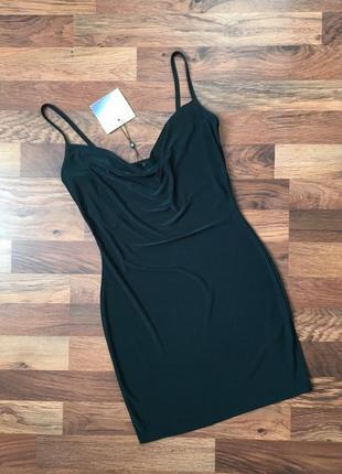 Новое с биркой изумрудное платье