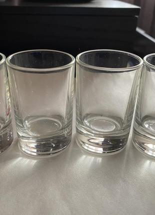 4 рюмки для водки