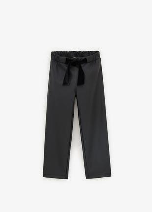 Кожаные брюки 2020 на 8 лет