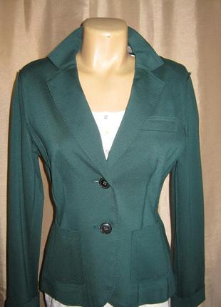 Элегантный летний зеленый пиджак-блейзер/selection by s.oliver/, премиум класс.