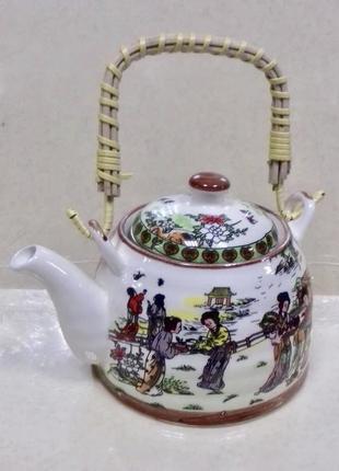 Чайник заварник в китайском стиле 600 мл .
