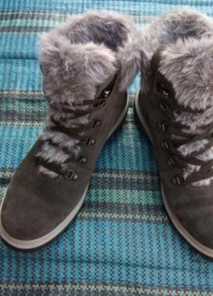 Ботинки legero gore -tex