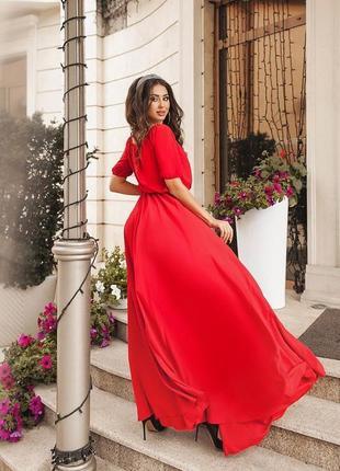 Шифонове довге плаття(шифоновое длинное платье)1 фото