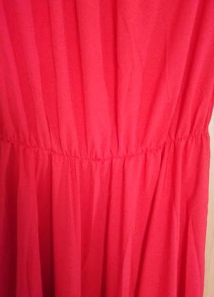 Шифонове довге плаття(шифоновое длинное платье)4 фото