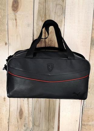 Новая безумно крутая качественная стильная сумка кожа pu / сумка в дорогу / на фитнес