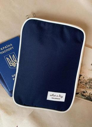 Новый кошелек - клатч сумка для документов / органайзер для паспорта / документов