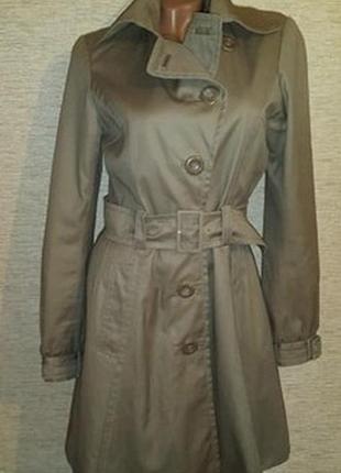 #розвантажуюсь  женский коттоновый плащ пальто бренд h&m