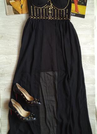 Длинное платье нарядное платье