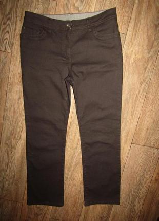 Джинсы укороченные джинсы р-р м-30 бренд marks&spencer