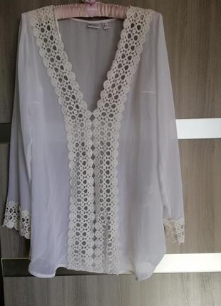 Блузка красивейшая прозрачная