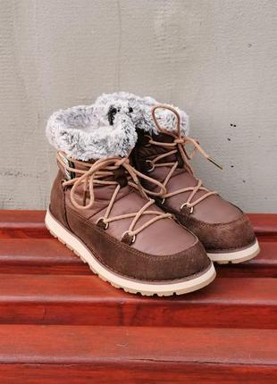 Кожаные зимние ботинки luhta 36 р. оригинал