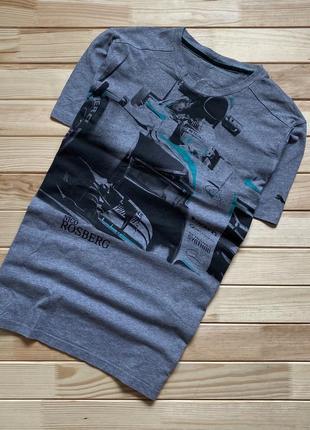 Крутая футболка puma mercedes amg petronas formula 1