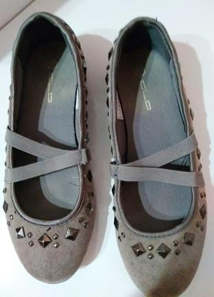 Туфли, балетки, мокасины graceland 37 р #розвантажуюсь