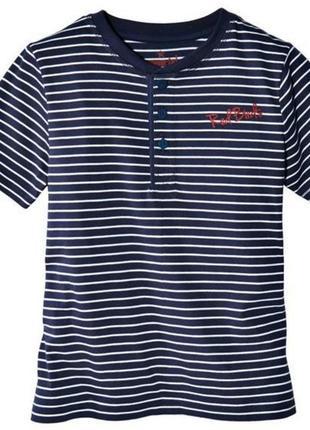 Розпродаж!полосата футболка для хлопчика pepperts (німеччина) 6-10 років