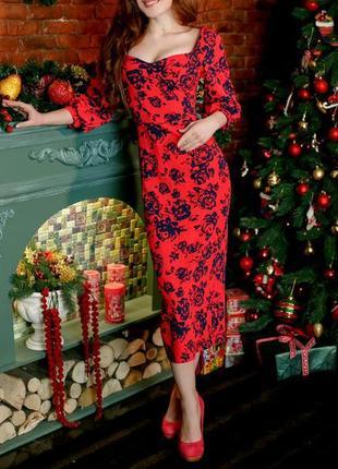Туфли asos замшевые ярко-вишневого цвета на каблуке и платформе5 фото