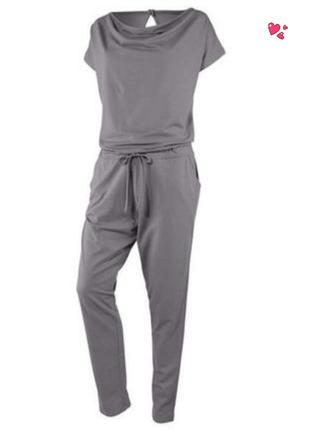Комбинезон crivit трикотажный для йоги, одежда для фитнеса
