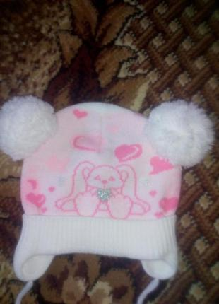 Дитяча шапочка на весну
