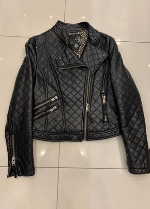 Куртка косуха стеганная next zara mango