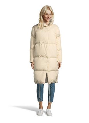 Новый пуховик одеяло mexx цвет экрю пух 80% зимняя куртка пальто на пуху