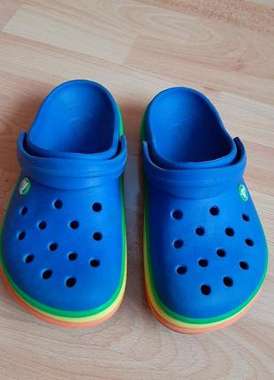 Кроксы, crocs m5 w7, 37-38, шлепки, шлепанцы