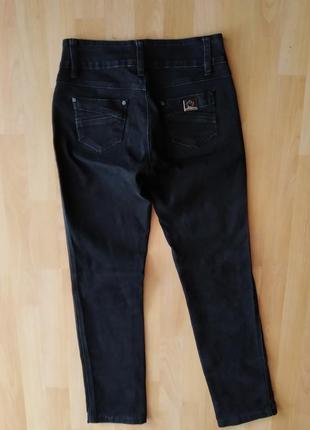 29 o. чёрные классические джинсы брюки
