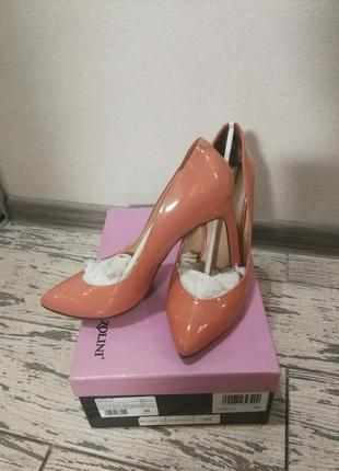 Лаковые туфли carlo pazolini