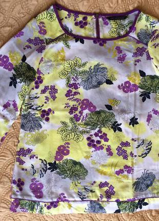 """Ніжна """"весняна"""" блузочка від m&s роз.8"""