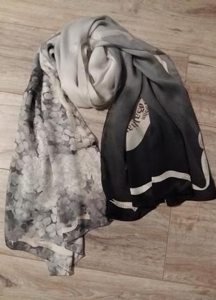 Шелковый шарф john galliano оригинал