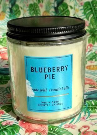Свеча bath and body works blueberry pie