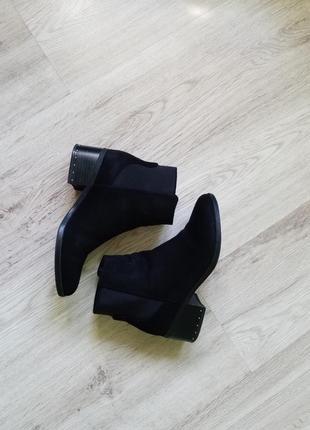 36р!замшевые ботинки челси