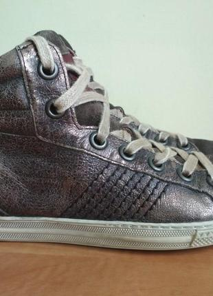 Кожаные ботинки paul green (австрия)  р.3 (36)