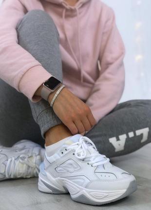Nike m2k tekno white🔺женские кроссовки найк м2к текно