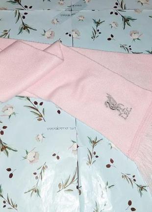 🎁1+1=3 мягкий теплый розовый шарф с фирменной вышивкой l.f.c. liverpool3 фото