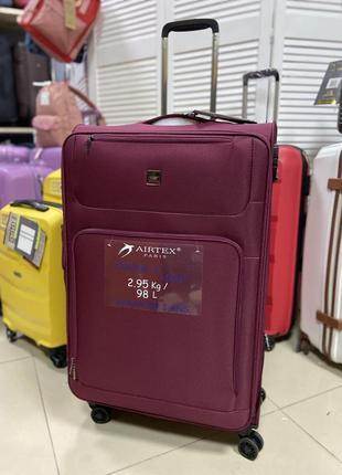 Ультралегкий большой чемодан airtex. франция