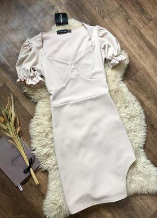 Платье кремовое pretty little think