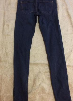 Темные джинсы pull&bear,